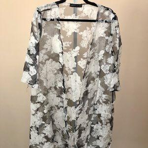 Zanzea Sheer Floral Duster Kimono (10)